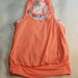 Childrens , Girls Workout Top by Athleta